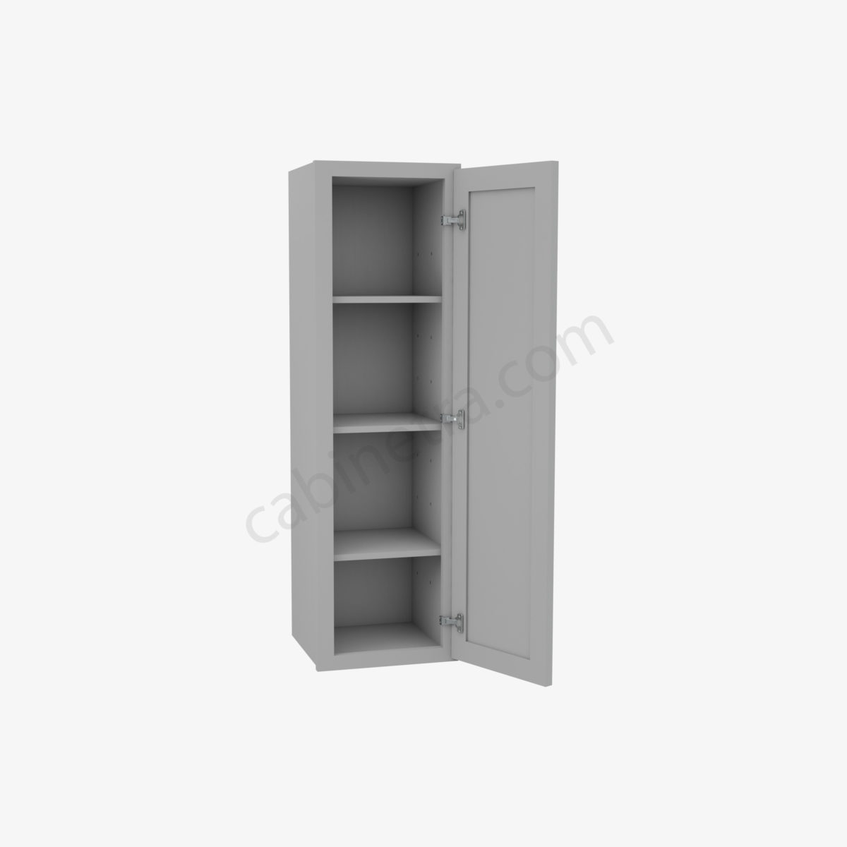 AB W1242 1 Forevermark Lait Gray Shaker Cabinetra scaled