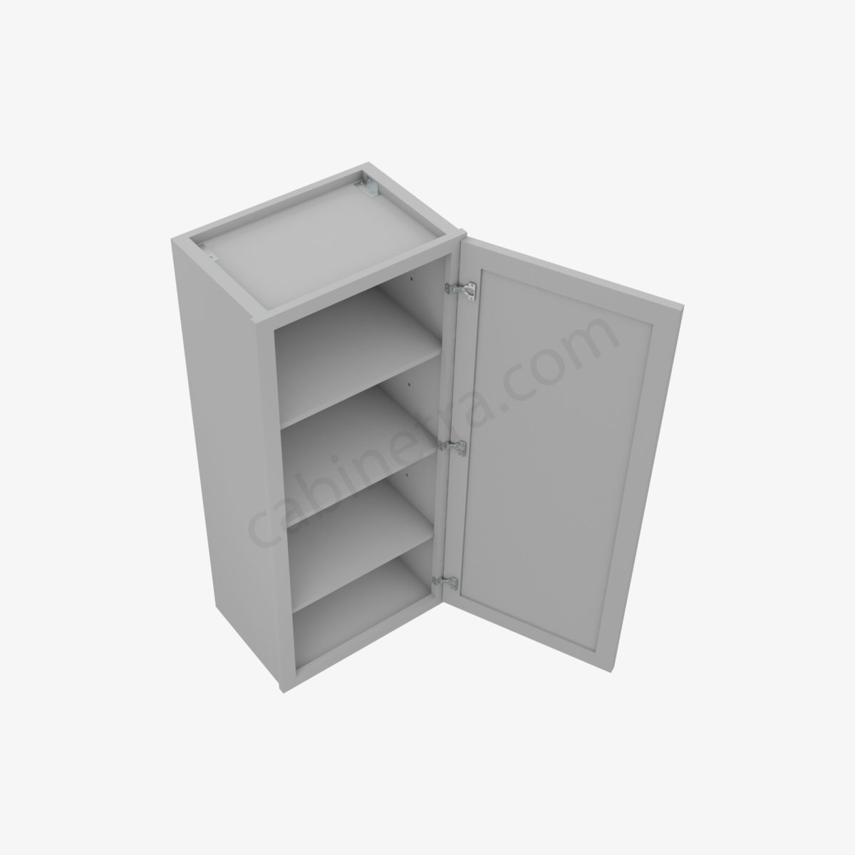 AB W1842 2 Forevermark Lait Gray Shaker Cabinetra scaled