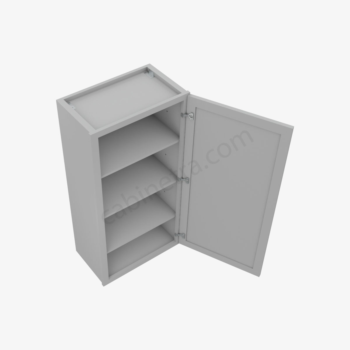 AB W2142 2 Forevermark Lait Gray Shaker Cabinetra scaled