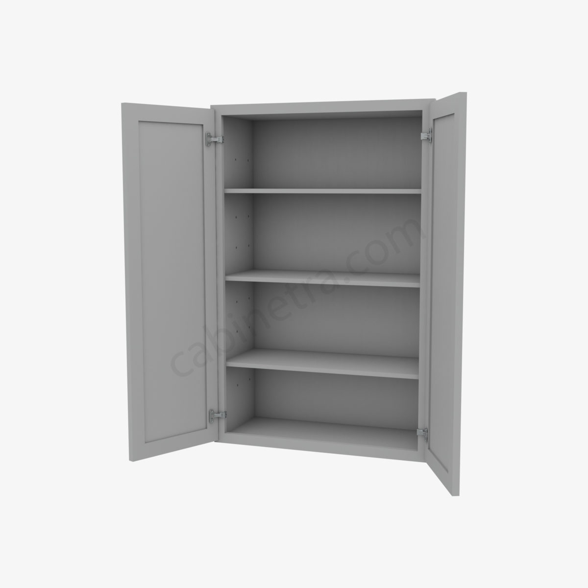 AB W2742B 5 Forevermark Lait Gray Shaker Cabinetra scaled
