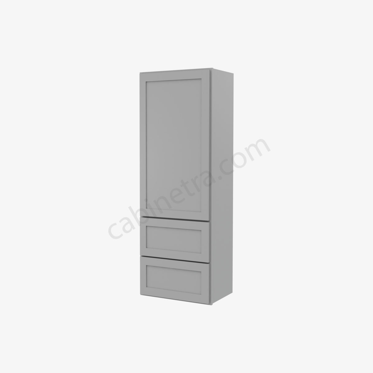 AB W2D1854 0 Forevermark Lait Gray Shaker Cabinetra scaled