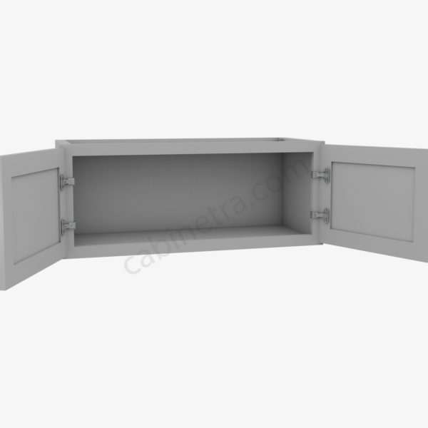 AB W3012B 1 Forevermark Lait Gray Shaker Cabinetra scaled