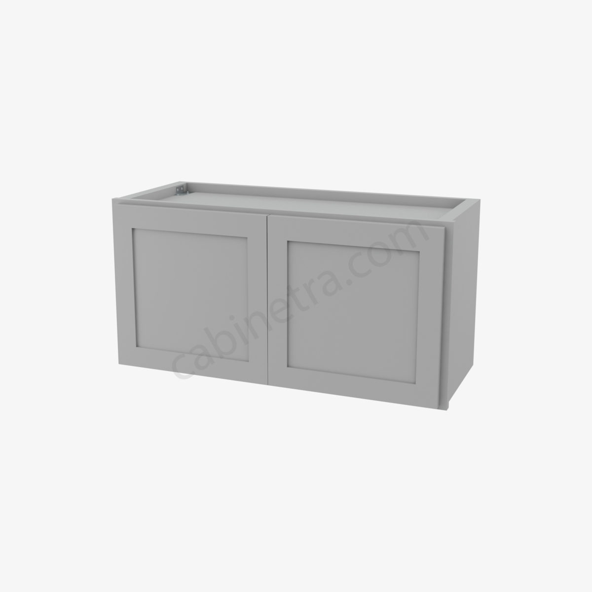 AB W3015B 0 Forevermark Lait Gray Shaker Cabinetra scaled
