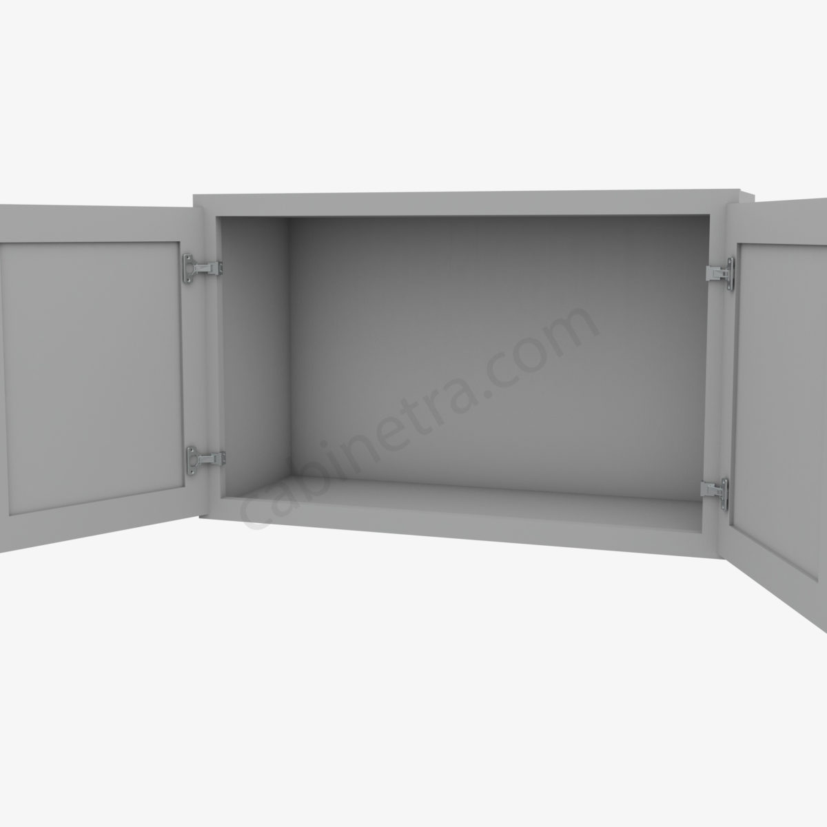 AB W3018B 5 Forevermark Lait Gray Shaker Cabinetra scaled