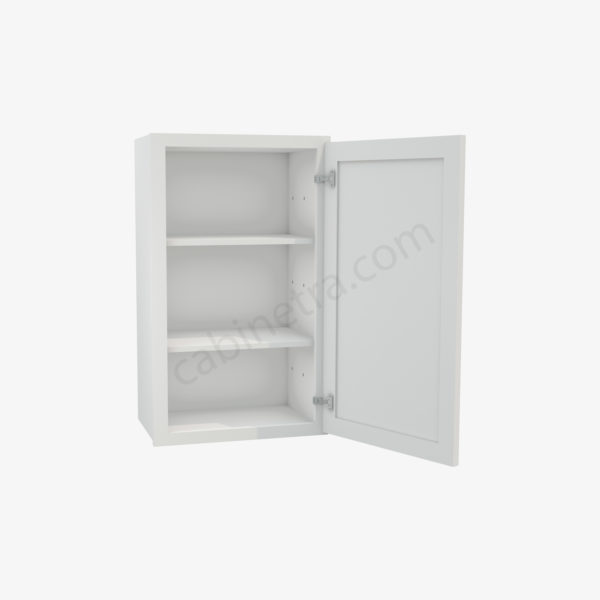 AW W1830 1 Forevermark Ice White Shaker Cabinetra scaled