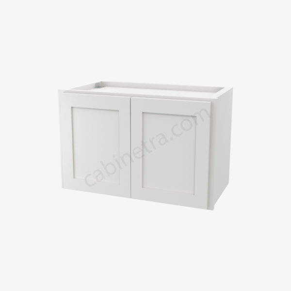 AW W2415B 0 Forevermark Ice White Shaker Cabinetra scaled