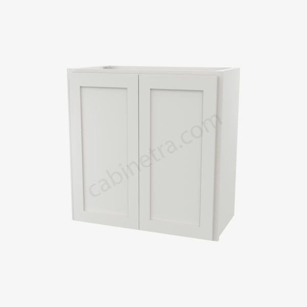 AW W2424B 0 Forevermark Ice White Shaker Cabinetra scaled