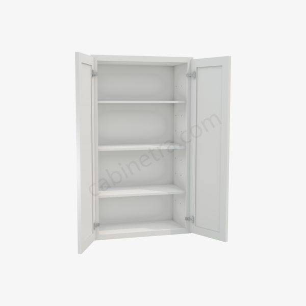 AW W2442B 1 Forevermark Ice White Shaker Cabinetra scaled