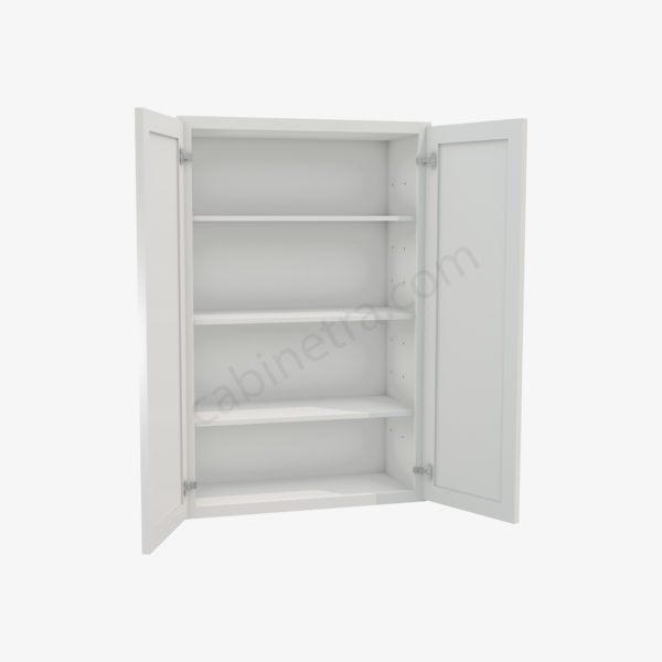 AW W2742B 1 Forevermark Ice White Shaker Cabinetra scaled