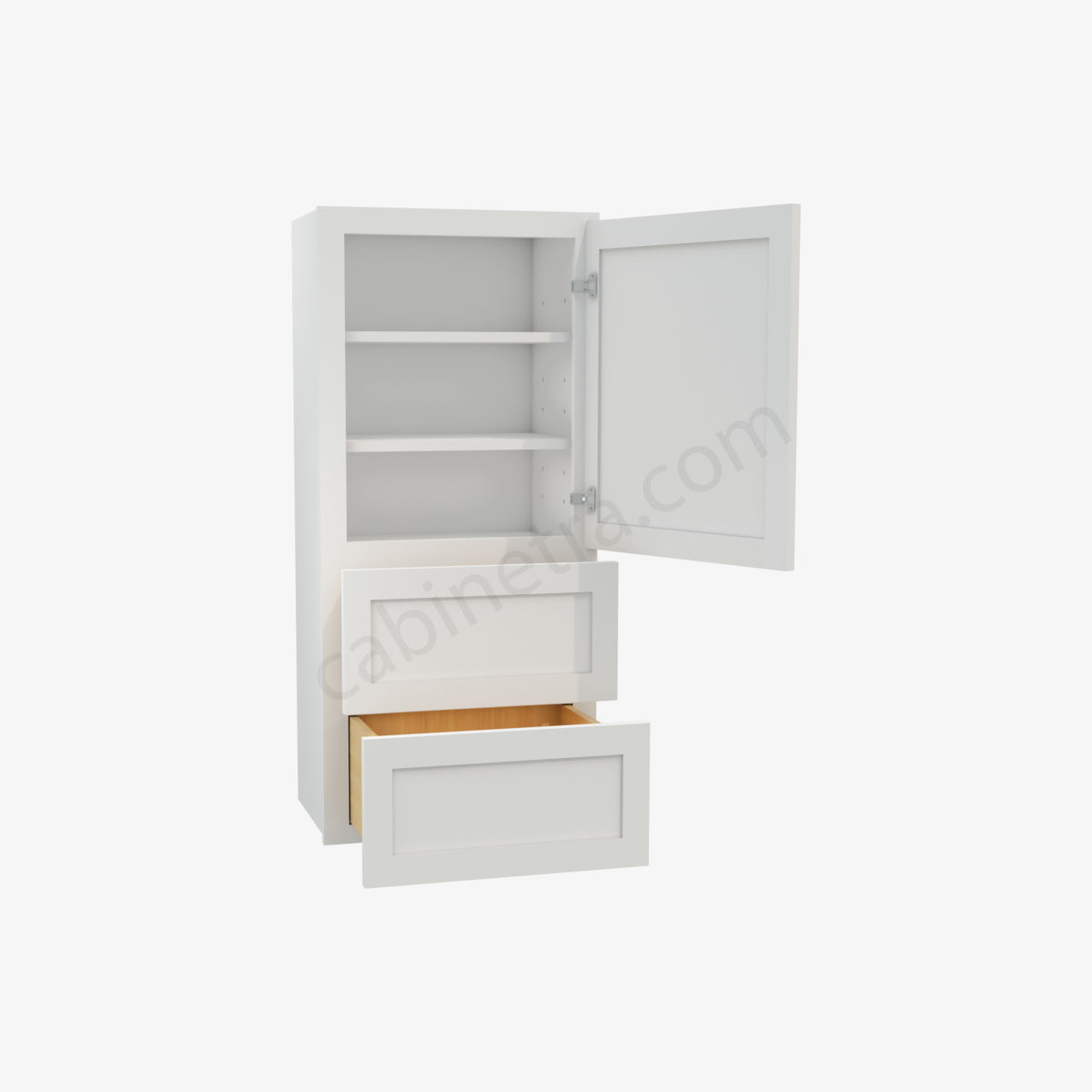 AW W2D1848 1 Forevermark Ice White Shaker Cabinetra scaled