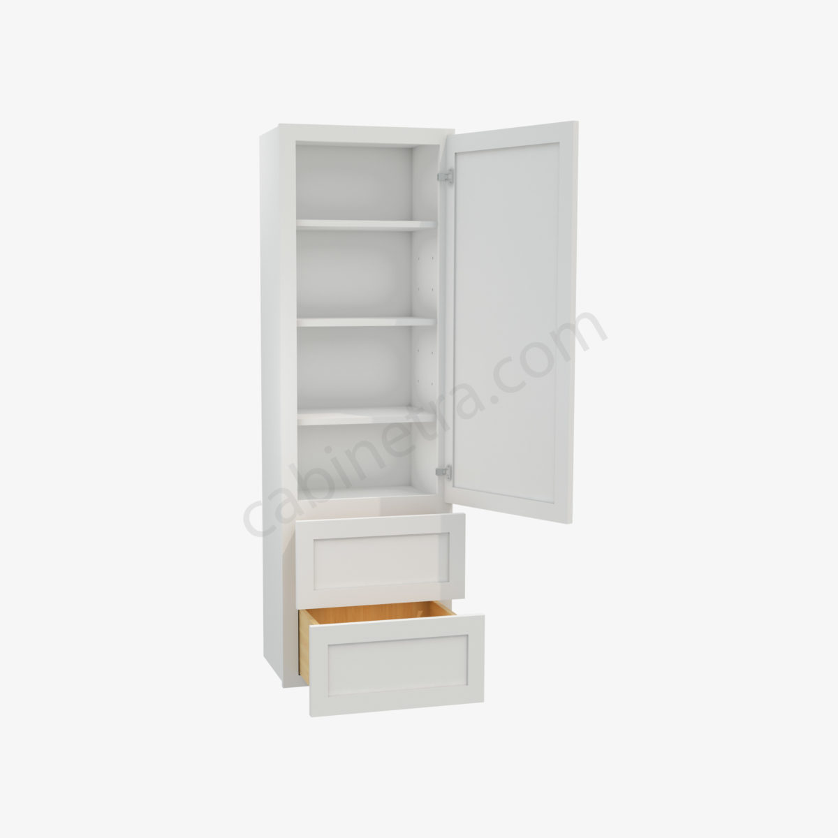 AW W2D1860 1 Forevermark Ice White Shaker Cabinetra scaled