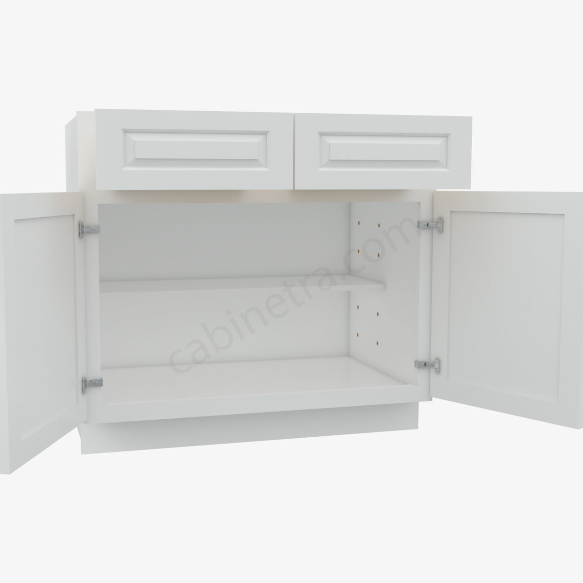 GW B36B 1  Forevermark Gramercy White Cabinetra scaled