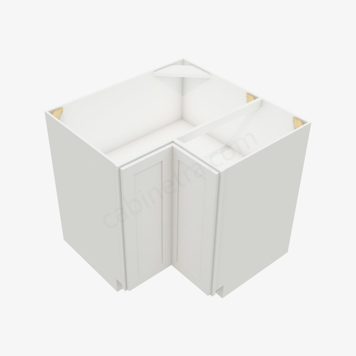 AW LS3612S 4 Forevermark Ice White Shaker Cabinetra scaled
