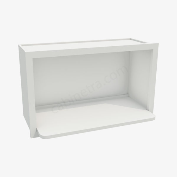 AW MWO3018PM 12 1 Forevermark Ice White Shaker Cabinetra scaled