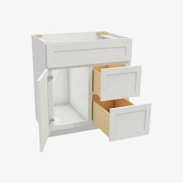AW S3021DR 34 1 Forevermark Ice White Shaker Cabinetra scaled