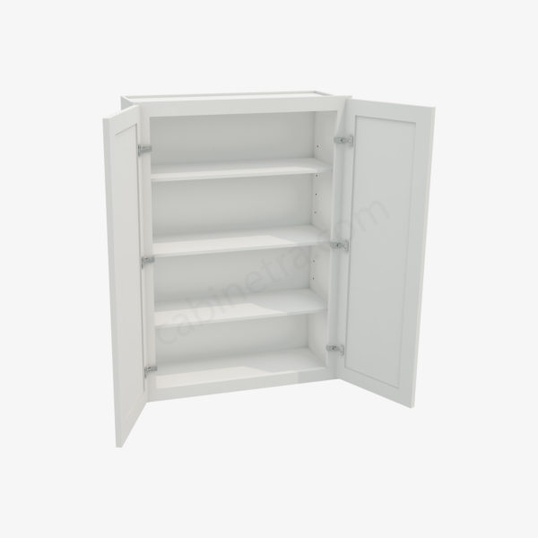 AW W3042B 1 Forevermark Ice White Shaker Cabinetra scaled