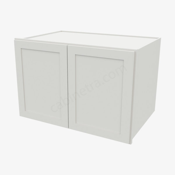 AW W362424B 0 Forevermark Ice White Shaker Cabinetra scaled