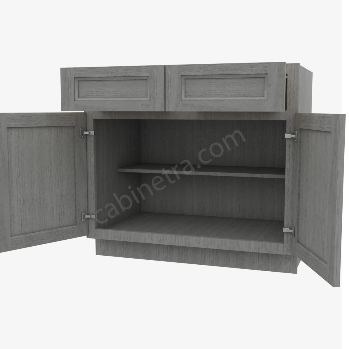 TG B36B 5 Forevermark Midtown Grey Cabinetra scaled